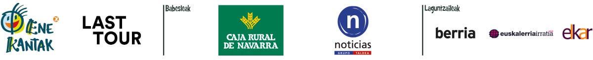 Babesle eta laguntzaileen logotipoak