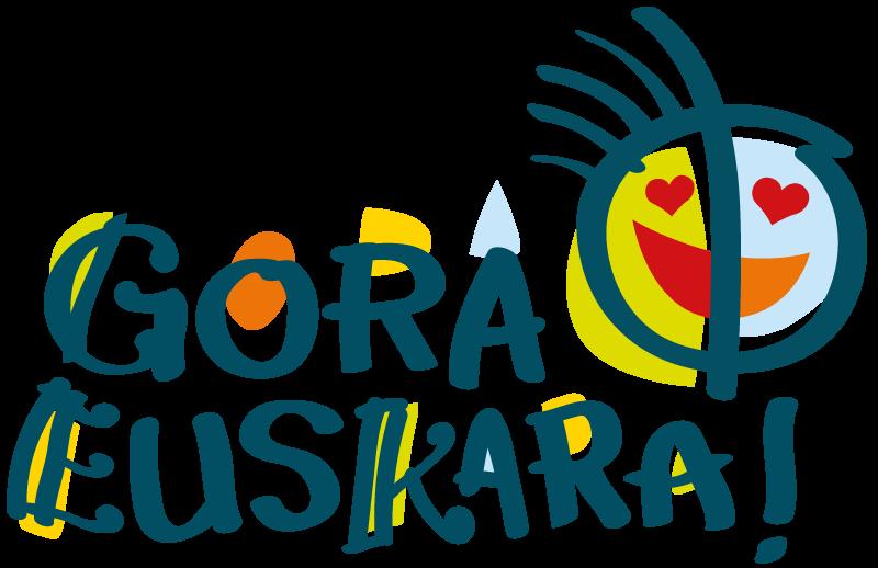 GORA EUSKARA! logotipoa Ene Kantak bihotzezake