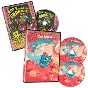 Liluragarria DVDa + Jai Erraldoia DVDa