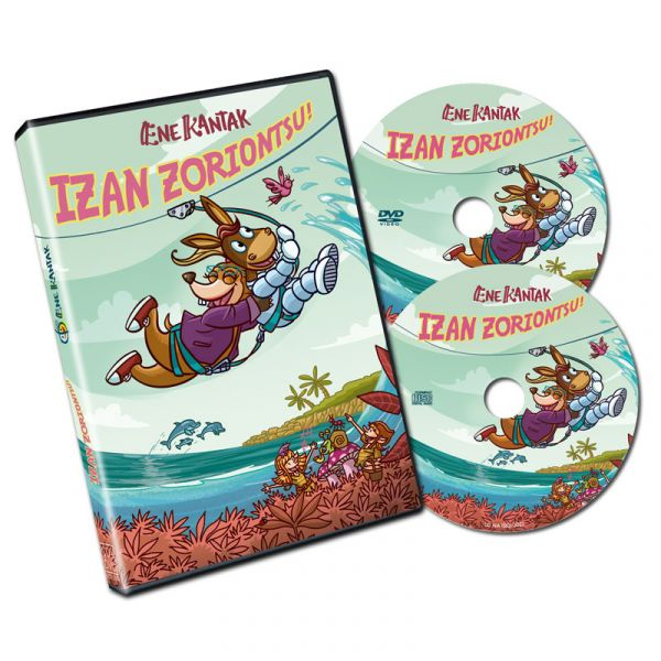 DVD-CD-IZAN ZORIONTSU!