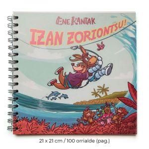 """Izan Zoriontsu!"" libreta"